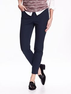 The Pixie Mid-Rise Ankle Pants for an interview twist!