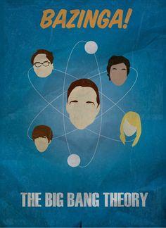 The Big Bang Theory Minimalist Poster