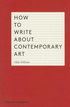 How To Write About Contemporary Art PDF