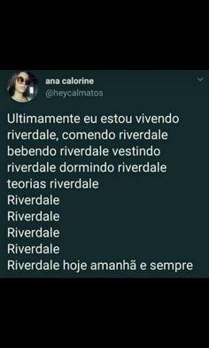 Vdd até eu NN me suporto de tanto falar de riverdale kskskksksk Riverdale Netflix, Friends Forever, Love You, Mood, Humor, Riverdale Funny, Friends Girls, Movie Wallpapers, Film Quotes