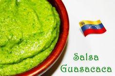 LAS SALSAS DE LA VIDA: GUASACACA Barbacoa, Chutney, Caviar, Christmas Party Menu, Venezuelan Food, Venezuelan Recipes, Sauces, Puerto Rican Dishes, Vegetarian Recipes
