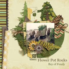 Flower Pot Rocks Kit Outdoors Adventures by Magical Scrap Galore http://www.scraps-n-pieces.com/store/index.php?main_page=product_info&cPath=66_152&products_id=5980#.U8fuh7GF_pg