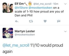 Same Martyn << PETITION FOR MARTYN AND PHIL TO DO THE BRO TAG <<< only if they're comfortable but yes