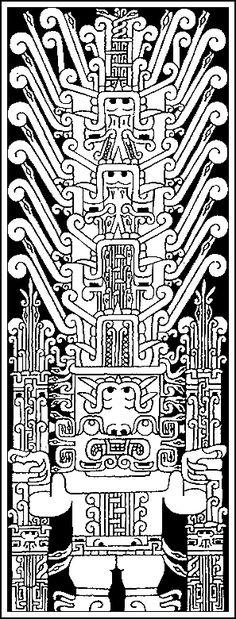 The Raimondi stela (Chavín)