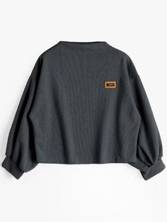 GET $50 NOW | Join Zaful: Get YOUR $50 NOW!https://m.zaful.com/badge-patched-lantern-sleeve-sweatshirt-p_390064.html?seid=nt2tb0v8copcdc0do64210err3zf390064