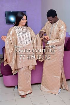 Boda Tutorial and Ideas African Wear Styles For Men, African Dresses For Kids, African Clothing For Men, Latest African Fashion Dresses, African Print Fashion, African Women, Couples African Outfits, African Attire, Senegalese Styles