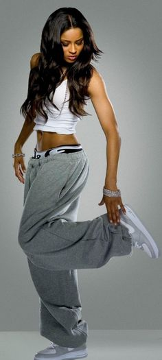 Ciara: proving that girls in sweatpants are sexy.