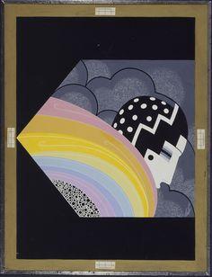 L'arc-en-ciel, 1929, Erté