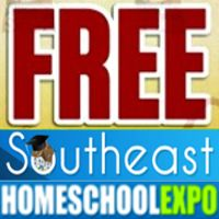 OFFER EXPIRES Monday, April 25, 2016: Claim your free registration to the Southeast Homeschool Expo on July 29-30, 2016! The Expo is a two-day whole family event with exhibitors, thousands of products, and great speakers!