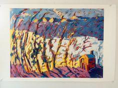 SALE: HUGE print $85. ONE large scale print Flat Tops Wilderness near Steamboat Springs, Colorado.
