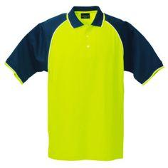 high visibility golf shirts South Africa #highvis #golfshirts #safetywear #workwear #lumo