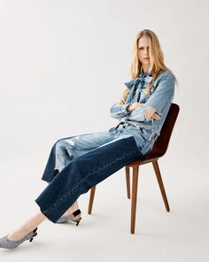 ZARA - #zaraeditorial - EDITORIALS - EDIT DENIM | TRF - Editorial