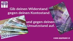 Dein Seelenbusiness: Finanzielle Sorgen? Difficult People, Take Care, Giving Up, Lets Go, Consciousness