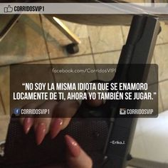 CorridosVip para viejas Got Quotes, True Quotes, Bible Quotes, Jenny Rivera Quotes, Narcos Quotes, Boss Bitch Quotes, Mexican Quotes, Baddie Quotes, Stupid Funny Memes