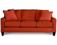 tangelo fabric d109515Talbot Premier Stationary Sofa by La-Z-Boy