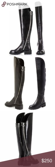 ASH Seven Double Zip Over the Knee Boots Brand new, never worn, with  original · Witch CovenCreepy ...