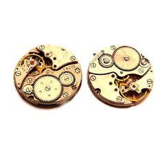 2 mécanisme de montre steampunk vintage engrenage 25mm