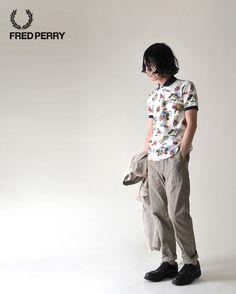 【楽天市場】FRED PERRY フレッドペリー nowartt for FRED PERRY/ノワートプリント ポロシャツ・f1432(全2色)(M・L)【2013春夏】:Crouka LR(クローカ エルアール)