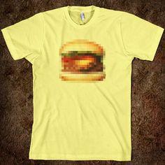 I love pixel art... especially on a t-shirt!