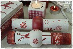Φωτογραφίες από τον τοίχο του χρή.. Christmas Decoupage, Napkin Rings, Photo Wall, Home Decor, Photograph, Decoration Home, Room Decor, Home Interior Design, Napkin Holders