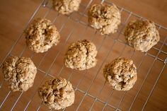 These are the absolute best oatmeal rasin cookies ever. They have no sugar in them and no eggs. The cookie dough is actually amazing on it's own. I catch myself eating it every time I make these. N...
