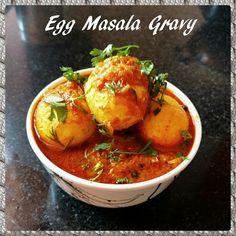 Chinu's Kitchen Corner: Egg Masala Gravy