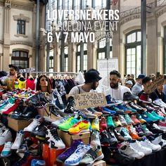Si no tienes plan para el próximo finde no te olvides  Barcelona vuelve a ponerse las Zapas!!  LoverSneakers Barcelona Event 2017 Summer Edition  BUY / SELL / TRADE / EXPO  Sábado 6 & Domingo 7 de Mayo. Estació del Nord - Barcelona De 11:00 a 20:30 - Tickets 3  info: http://ift.tt/1iZuQ2v  #LSevent2017 #loversneakers #sneakerheads #sneakers #kicks #zapatillas #kicksonfire #kickstagram #sneakerfreaker #nicekicks #barcelona #snkrfrkr #sneakercollector #shoeporn #igsneskercommunity #sneakernews…