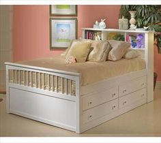 Natural Full Size Bed With Storage Drawers Modern Storage Twin for sizing 1200 X 1000 White Full Size Captains Bed With Drawers - A neatly organized room l Full Bed With Storage, Bunk Beds With Storage, Under Bed Storage, Bedroom Storage, Extra Storage, Twin Bed With Drawers, Bed With Drawers Underneath, White Full Size Bed, Twin Captains Bed