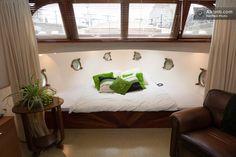 Amsterdam: house boat: