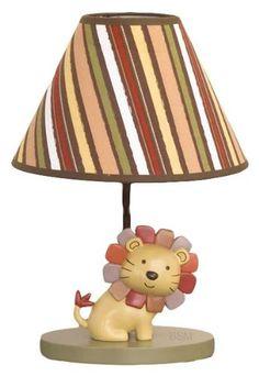 CoCaLo Baby Nali Jungle Lamp Base & Shade