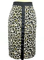 Leopard Luxe Pencil Skirt at PLASTICLAND - bachelorette party attire?