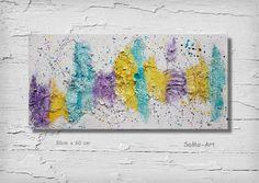 Acrylmalerei -  Acrylbild, Wandbild,Malerei **Farbenfroh** - ein Designerstück von SoMa-Art bei DaWanda