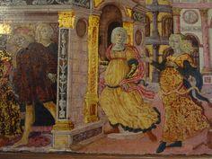 HISTOIRE DE LUCRECE ET TARQUIN, E.CL.7500. Ecouen-Musée Renaissance-Cassoni