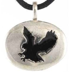 "Eagle Animal Spirit Totem Pendant Necklace - Durable Pewter - Bonus Cord Necklace by ""Wicca, Wiccan, Metaphysical"" -- Awesome products selected by Anna Churchill"