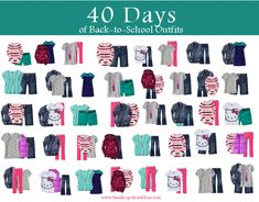 Back to School Fashion for Kids: 15 Items, 40 Looks – Afropolitan Mom 15 items 40 outfit for back to school for kids Back School Outfits, Outfits Niños, Outfits For Teens, Fashion Outfits, Tween Fashion, Fashion 101, Fashion Fall, Trendy Fashion, Fashion News
