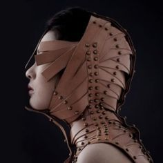 creature of design: Sanguine Collar from Una Burke