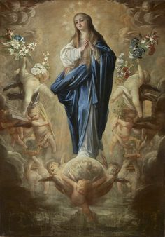 Blessed Mother Mary, Blessed Virgin Mary, Catholic Art, Religious Art, Catholic Prayers, Hail Holy Queen, Assumption Of Mary, Roman Church, Jesus Christ Images