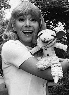 Shari Lewis and Lamb Chop circa 1950. Adorable!