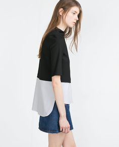 Image 3 of COMBINED TOP from Zara