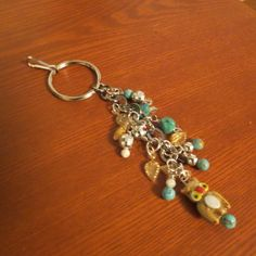 Beaded Bag Charms Jewelry for Handbags by HeartSongCreativeExp, $7.50