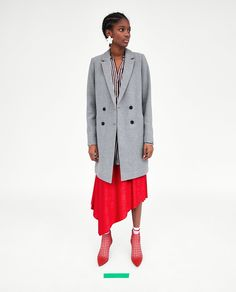 ZARA - NEW COLLECTION - TOMBOY COAT