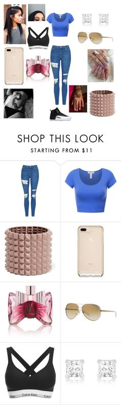 """What A Day"" by selenaeasley ❤ liked on Polyvore featuring Topshop, Valentino, Viktor & Rolf, Michael Kors and Calvin Klein"