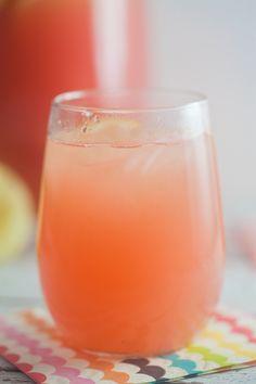 Sparkling Watermelon Lemonade {Progressive Eats} ~ http://www.healthy-delicious.com
