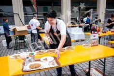 Mesas plegables para catering de Alpinholz
