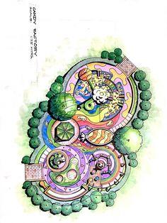 10 Convenient Clever Tips: Big Garden Landscaping Landscape Architecture Drawing, Landscape Plans, Landscape Drawings, Cool Landscapes, Architecture Portfolio, Garden Design Plans, Garden Landscape Design, Garden Landscaping, Landscaping Ideas