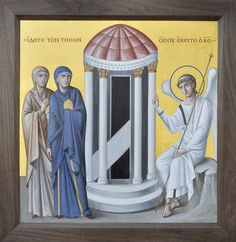 Отец Зинон_воскресение Христово | Аналойная икона Воскресени… | Flickr