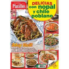 Revista Irresistibles Platillos Especial 53 - Delicias con nopal y chile poblano - Formato Impreso