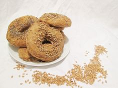 Kamut-Vollkorn-Bagels inspired by The Bread Kitchen