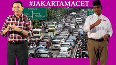 Jurus Jitu Anies dan Ahok Atasi Macet Jakarta