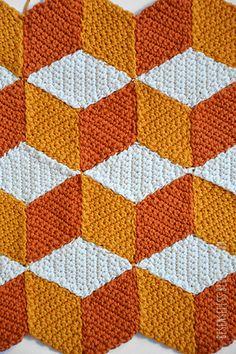 Vasarely crochet motif - besenseless.blogspot.com